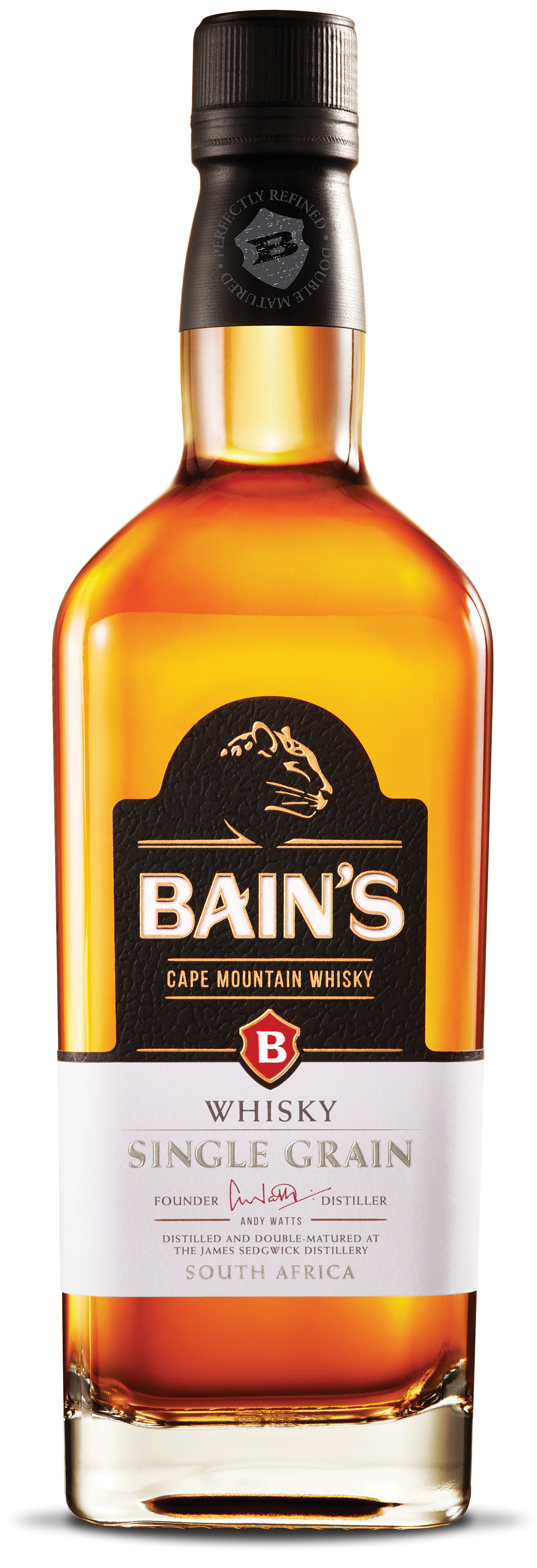 Single Malt : Bains Single Grain Whisky